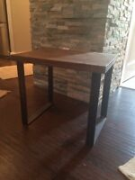 Rustic/Modern End Table from Homesense