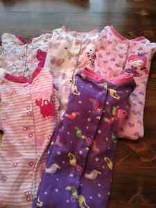6 Baby girl 24 months pyjamas $20 for all