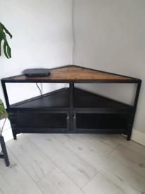 Industrial Corner TV unit