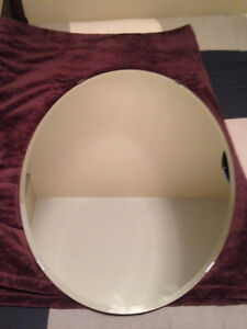 Oval Mirror (3 ft high x 2 ft wide)