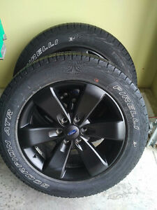 F150 Black rims and tires from 2014 FX4