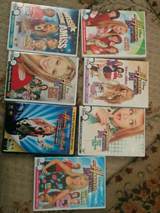 7 Disnep Hannah Montana DVDs only for 5 $