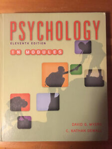 Psychology 11th Edition In Modules David G. Myers