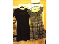 Black and White Dress Dresses Brand New Size 12