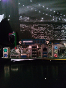 AAHD3-VC Acer motherboard with CPU and fan