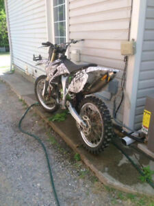 2008 Yamaha ya 250f parts bike