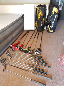 Various RH Drivers, irons and Bags - Callaway, TaylorMade & more
