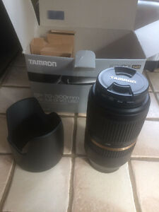 TAMRON SP 70-300MM LENS FOR CANON