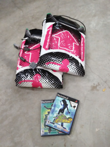 Playstation Dance Dance Revolution (DDR) Mats and Games