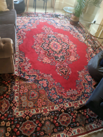 Persian rug - rare extra large 382cm x 262cm