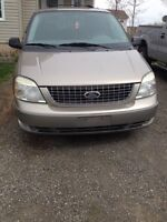 Must sell ASAP!!! 2004 Ford freestar