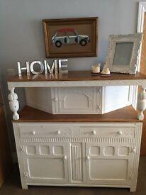 Stunning solid oak antique sideboard Welsh dresser