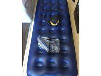 Single Air bed w/pump