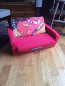 Disney Cars fold out bed/couch