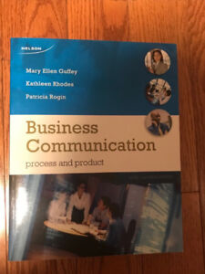 Business Communication - Process and Product - 6th Edition