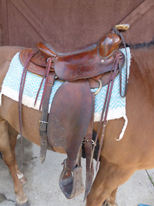 Custom western saddle by Kenway
