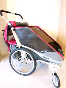 NEW condition Thule Chariot Cougar double MFG date 2015
