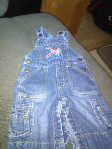 Clean overalls size 3 months boys