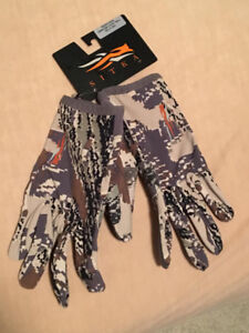 Hunting gloves Sitka Ascent Optifade country camo pattern, L