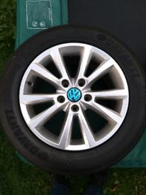 ORIGINAL AUDI VW TOUAREG PASSAT TIGUAN Q3 Q4 A4 18'' ALLOY WHEELS