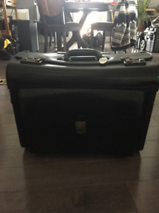 Mancini Rolling Legal Briefcase