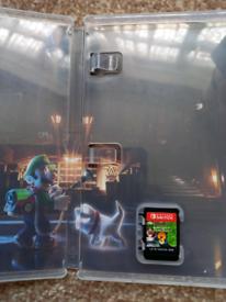 "Luigi""s mansion 3 Nintendo switch"