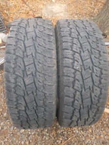 265/70R17 Toyo Open Country A/T 10ply