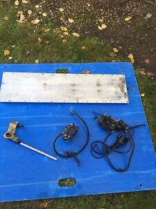 2001 skidoo zx fuel tank and other misc parts Strathcona County Edmonton Area image 3