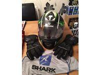 Motorbike Jacket/Trousers/Gloves & Helmet