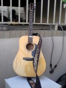 Morris 6 string Acoustic guitar.