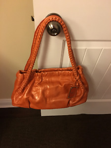 Paolo Masi Leather Bag Made in Italy brand new!