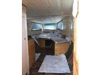 Houseboat, wide beam, live aboard narrowboat £19,500ono