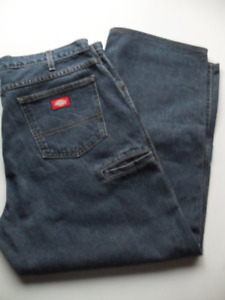 Men's Relaxed Fit Dickies Blue Jeans W38 X L30