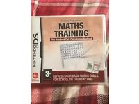 Nintendo DS game, Maths Training