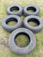 Set of 5 Tires  265/65/17