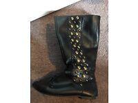 Black Debenhams boots size uk 4