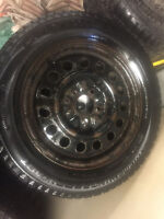 Good tires and rims 225-55-16