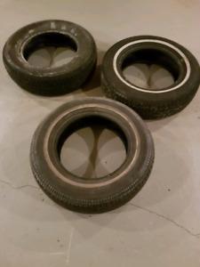 205/70R15 3 pneus été usagé $45/3 used summer tires
