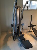 TuffStuff 6pack home gym for sale MINT MINT MINT