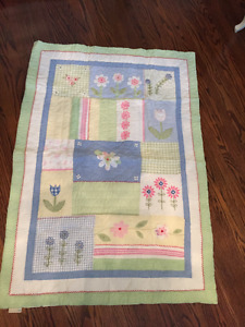 2 Pottery Barn quilts for crib