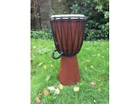 African style djembe drum.