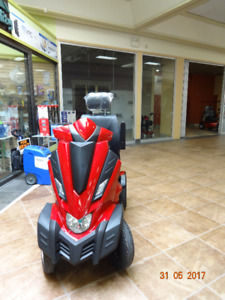 Mobility scooter. large