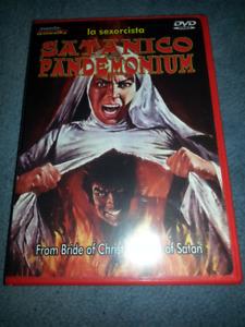 Satanico Pandemonium horror DVD (factory sealed)