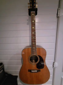 Sigma d45 dreadnought acoustic guitar in mint condition