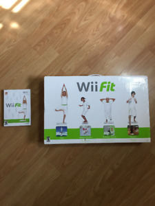 Nintendo Wii FIt Balance Board and Game