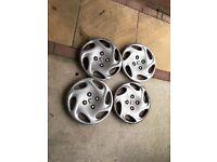 "Genuine Peugeot 14"" wheels trims"