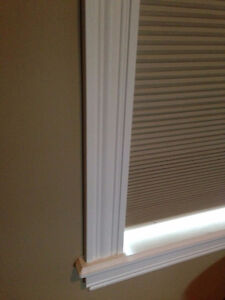 Large Custom Honeycomb Blackout Window Blinds