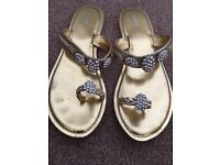 Sandals size 6 from next