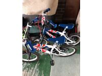 Kids Team GB Bikes