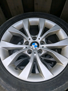 """17"""" Nice BMW rims AND flat tires"""